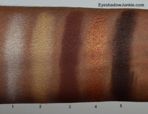 EL Bronze Dunes arm swatch