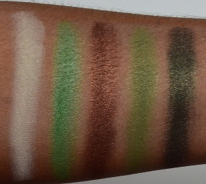 EL Emerald Oasis arm swatch