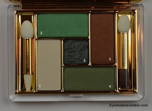 EL Emerald Oasis palette
