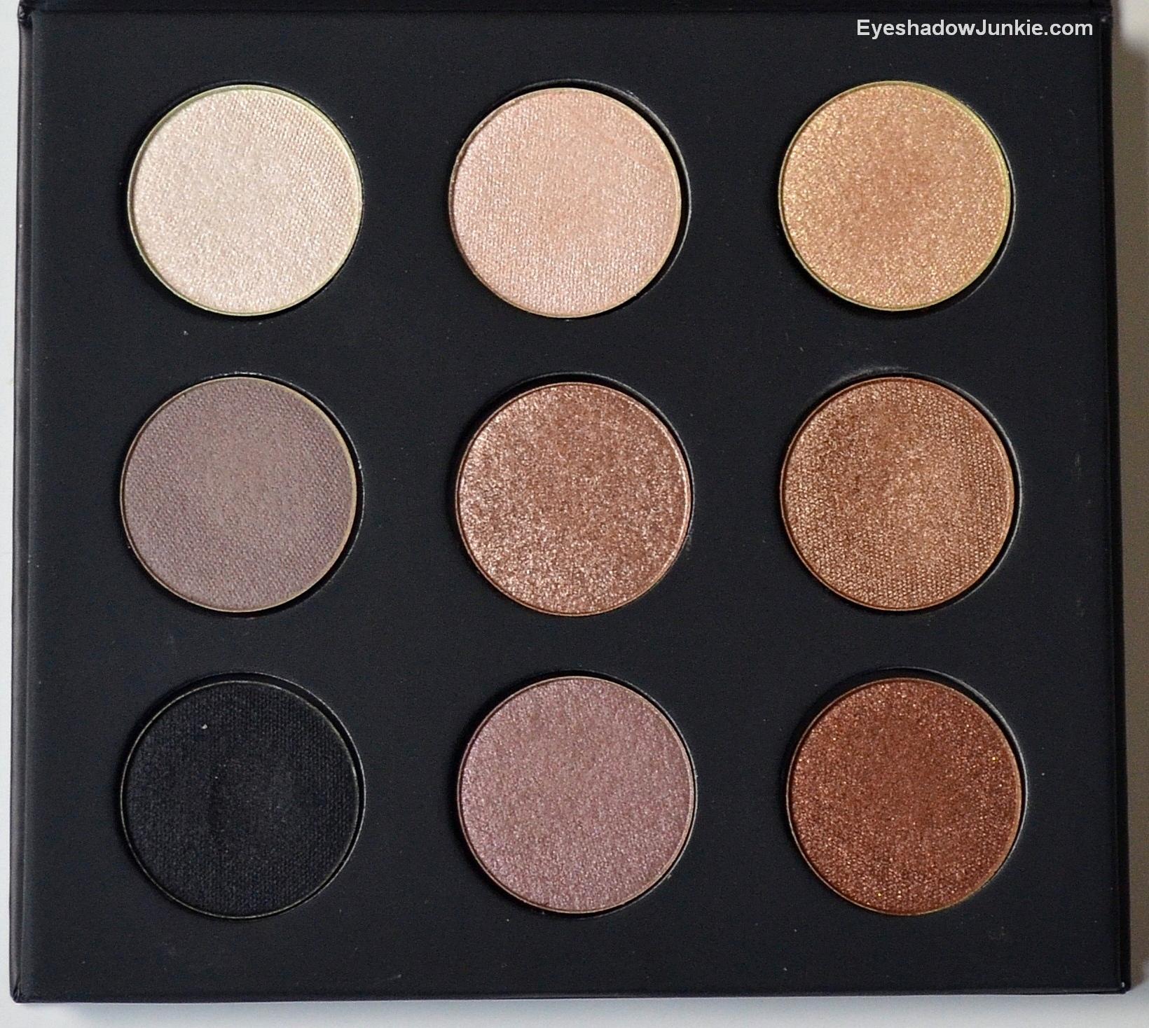make up forever artist palette artistic eyeshadow junkie