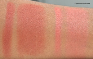Blush #10 (left), #11 (right)