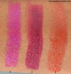 Lipstick #26, #13, #9