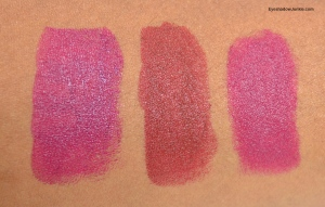 MUFE Rouge swatch